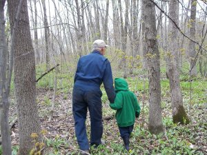 20120510 In the Bush with Great Grandpa!! 031