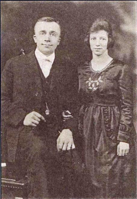 William and Ardena, wedding photo