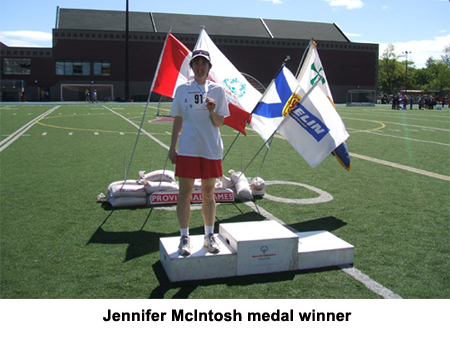 Jennifer McIntosh--Medal Winner