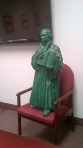 Martin Luther in our meeting room